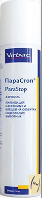Парастоп аэрозоль 250 мл фл. против насекомых и клещей в помещениях. петдог