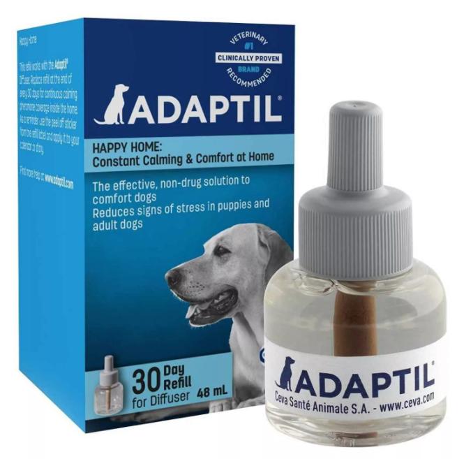 Адаптил  для собак сменный флакон 48 мл (Adaptil Ceva) петдог
