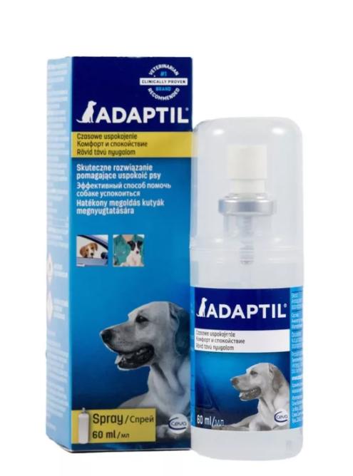 Адаптил  спрей - модулятор поведения для собак  (Adaptil Ceva) петдог