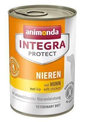 Анимонда Интегра Ренал для собак с курицей при ХПН (Animonda Integra Protect Dog  Nieren) 400 гр петдог