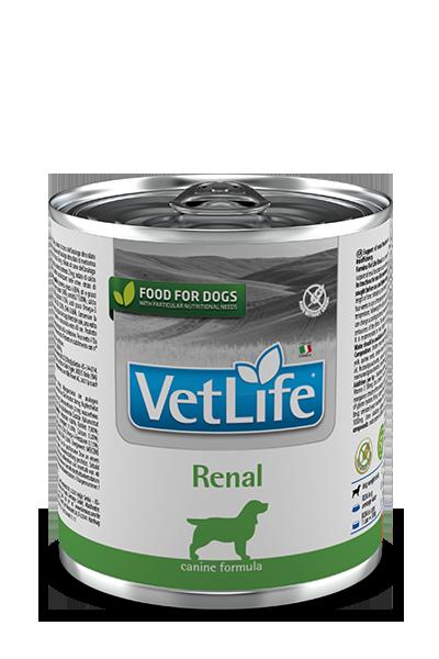Фармина Ренал для собак при ХПН  300 гр банка, (Farmina Vet Life Renal) петдог