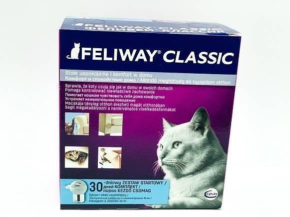 Феромон для кошек FELIWAY (Феливей) - диффузор + флакон 48 мл петдог