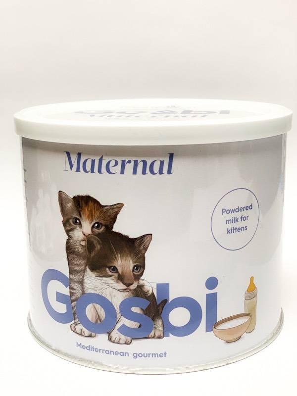 Госби (Gosbi) сухая молочная смесь для котят 250 гр + бутылочка. петдог