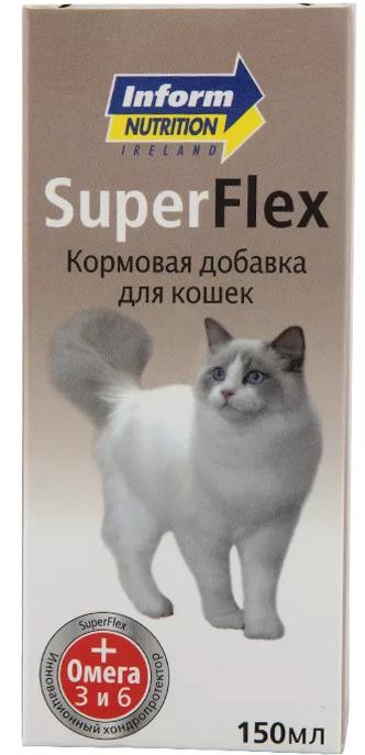 Супер Флекс 150 мл для кошек петдог