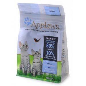 """Applaws Беззерновой для Котят """"Курица/Овощи: 80/20%"""" (Dry Cat Kitten) 400 гр петдог"""