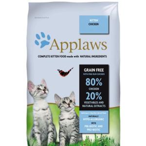 """Applaws Беззерновой для Котят """"Курица/Овощи: 80/20%"""" (Dry Cat Kitten) 7,5 кг петдог"""