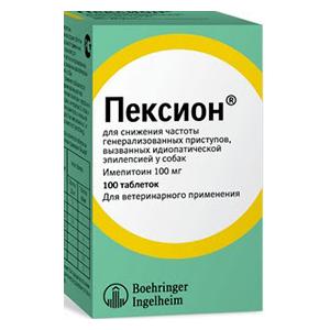 Пексион 100 мг, 100 таблеткок уп. петдог
