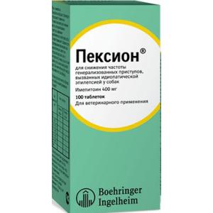 Пексион 400 мг, 100 таблеткок уп. петдог
