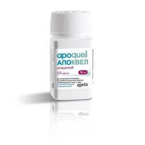 Апоквел 16 мг 100 таблеток уп. петдог
