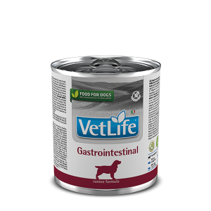 Фармина ГастроИнтестинал для собак при расстройстве ЖКТ, банка 300 гр (Farmina Vet Life Gastrointestinal) петдог