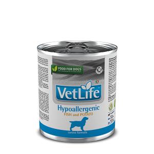 Фармина рыба с картофелем , для собак при пищевой аллергии и/или непереносимости (Farmina Hypoallergenic Fish and Potato) 300 гр консервы петдог