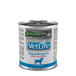 Фармина утка с картофелем, для собак при пищевой аллергии и/или непереносимости (Farmina Hypoallergenic Duck & Potato) 300 гр петдог