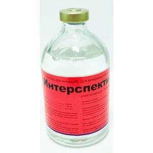 Интерспектин-L инъекц, р-р, фл. 100 мл петдог