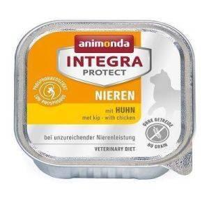 Консервы Анимонда Интегра Ренал для  кошек при ХПН с курицей (Animonda Integra Nieren) 100 гр петдог