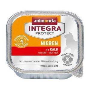 Анимонда Интегра Ренал для  кошек при ХПН с телятиной (Animonda Integra Nieren) 100 гр ламистеры петдог